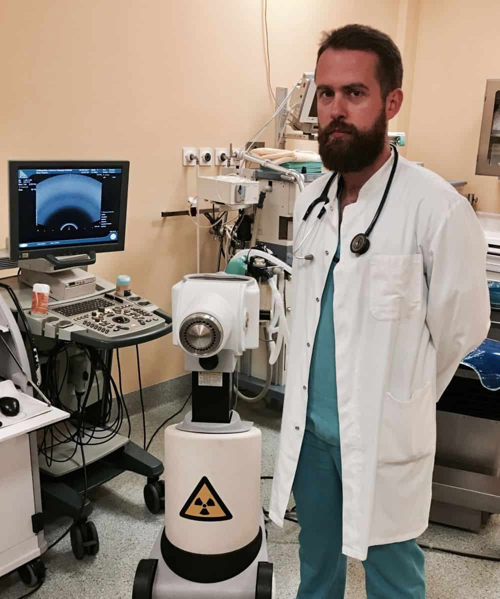 Brachyterapia, lekarz Artur Chyrek WCO