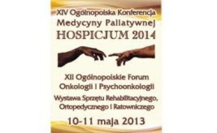 XIV ogólnopolska konferencj medycyny paliatywnej Hospicjum 2014