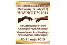 XIV Ogólnopolska Konferencja Medycyny Palitywnej Hospicjum 2014