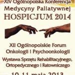 Ogólnopolska Konferencja Medycyny Palitywnej Hospicjum 2014