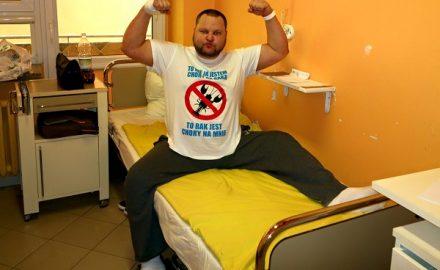 Rafał Zawidzki, pacjent onkologiczny