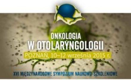 onkologia w otolaryngologii, konferencja poznan