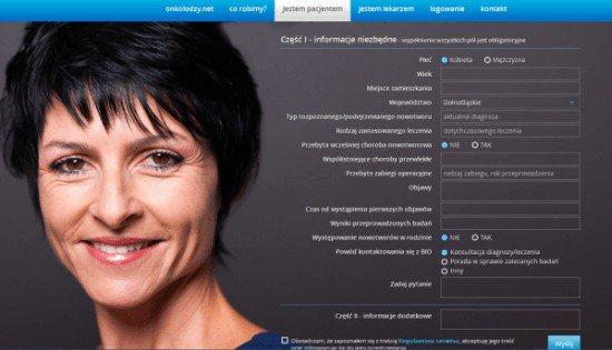 onkologia online www.onkolodzy.net biuro interwencji onkologicznej