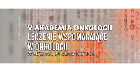 Termedia akademia onkologii leczenie wspomagające Warszawa
