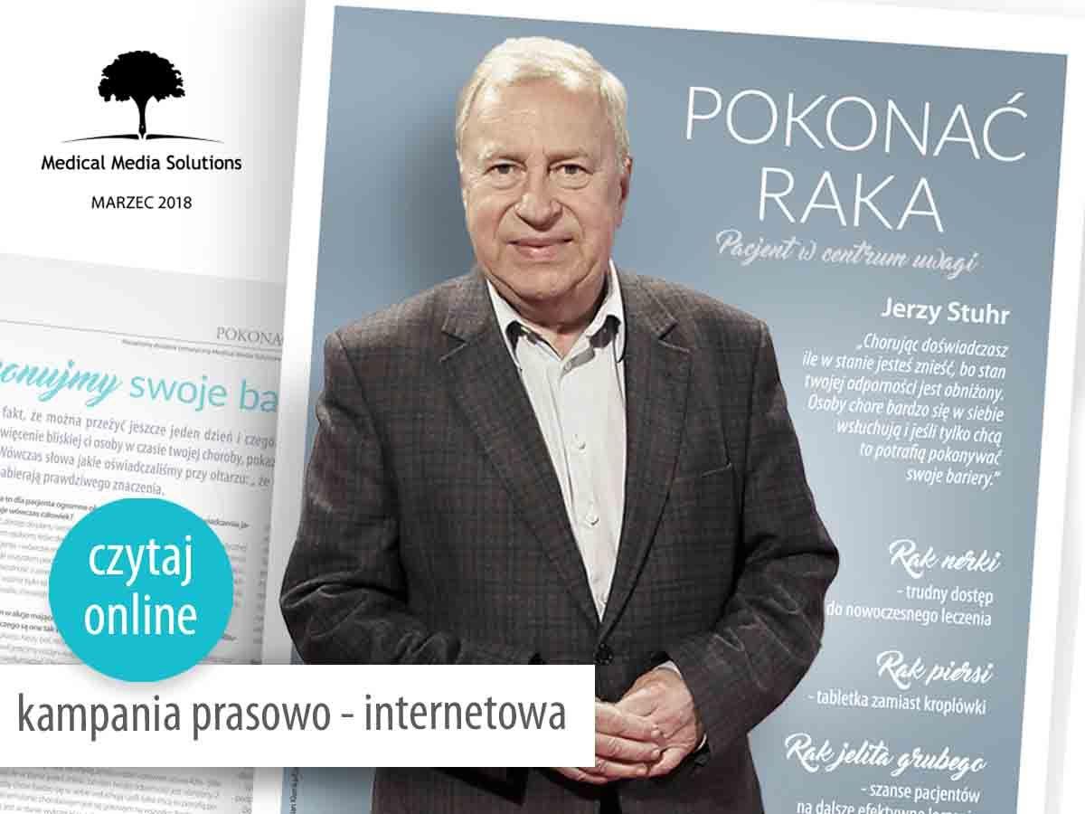 """Ósma edycja kampanii edukacyjnej """"Pokonać Raka"""""""