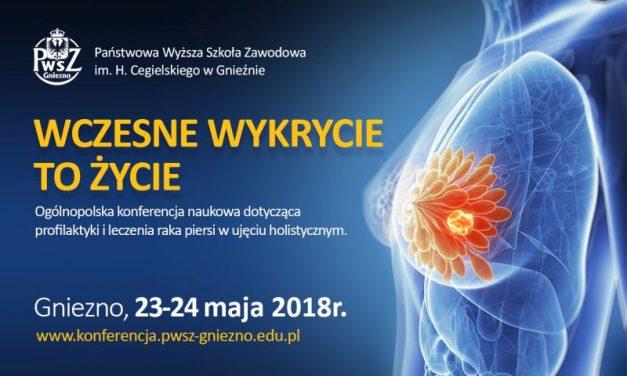 Wczesne wykrycie to życie – otwarta konferencja onkologiczna w Gnieźnie