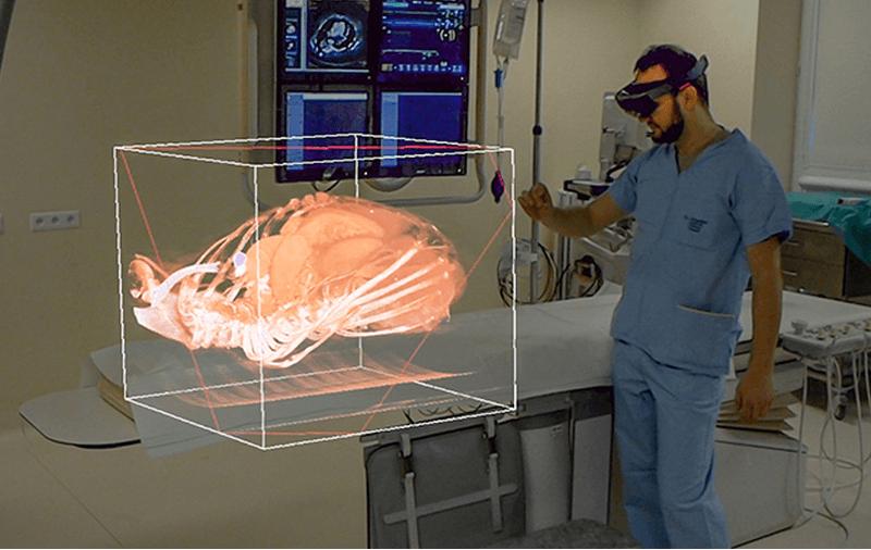 rozszerzona rzeczywistość kliniczna onkologia