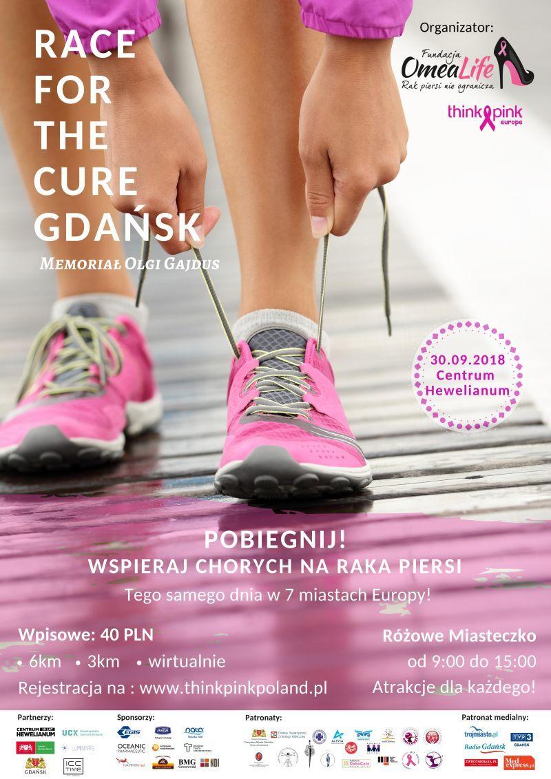 bieg Race for the Cure gdańsk