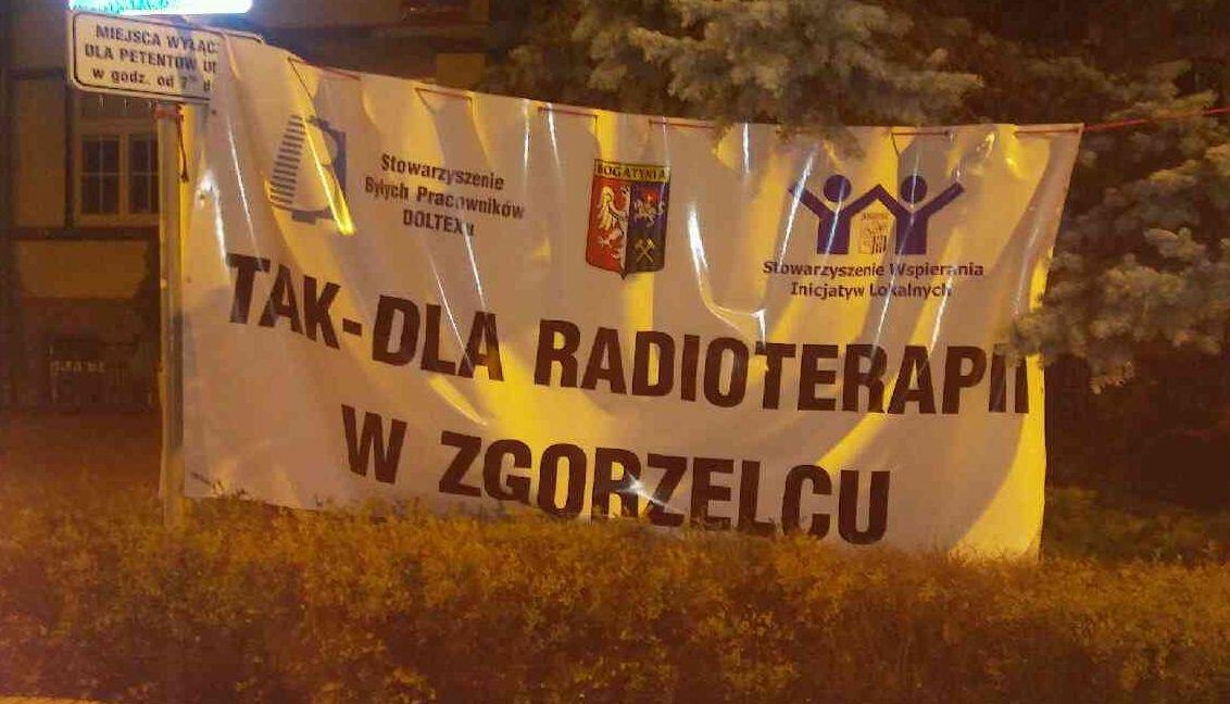 Pacjenci walczą o zgorzelecką radioterapię