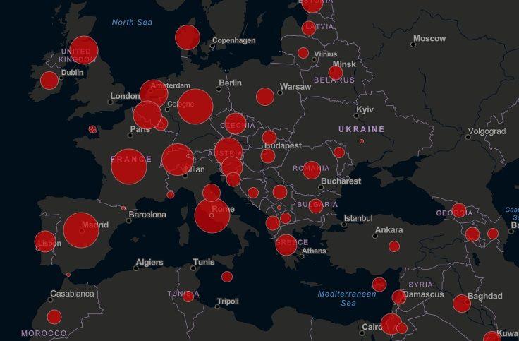 Aktualna Mapa Zachorowan Na Koronawirusa Na Swiecie Zwrotnikraka Pl
